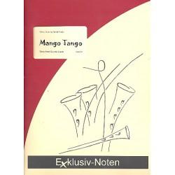 Frank, Bernd: Mango Tango : für 4 Saxophone (S(A)ATBar) Partitur und Stimmen