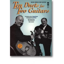Music Minus One Guitar (+CD) : 10 duets for 2 guitars
