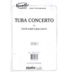 Gregson, Edward: Concerto f├╝r Tuba und Blasorchester : Partitur