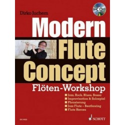 Juchem, Dirko: Modern Flute Concept (+CD) : für Flöte