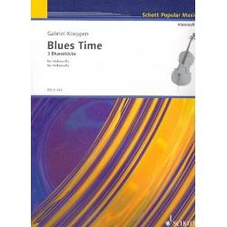 Koeppen, Gabriel: Blues Time : für Violoncello