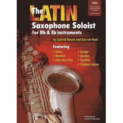 Rosati, Gabriel: The Latin Saxophone Soloist (+CD) : for saxophone