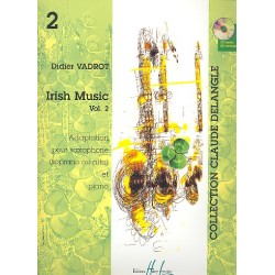 Irish Music vol.2 : pour saxophone alto (soprano) et piano