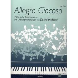 Allegro giocoso (+CD) : für Klavier