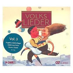 Volkslieder : CD 3 (inkl. Booklet mit Informationen zu Liedern und Interpreten)