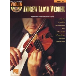 Webber, Andrew Lloyd: Andrew Lloyd Webber (+audio online) : for violin violin playalong vol.21