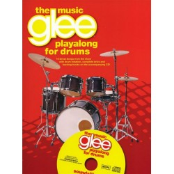 Glee - The Music (+CD) : for drum set songbook melody line/lyrics/drums