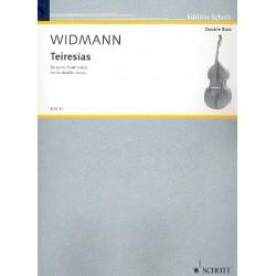 Widmann, J├Ârg: Teiresias : f├╝r 6 Kontrab├ñsse Partitur und Stimmen
