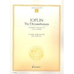 Joplin, Scott: The Chrysanthemum : f├╝r Fl├Âte und Klavier