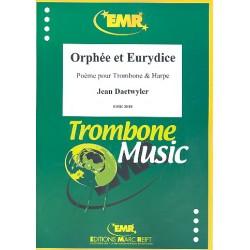 Daetwyler, Jean: Orphée et Eurydice für Posaune und Harfe Partitur und Stimmen