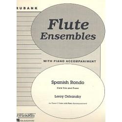 Ostransky, Leroy: Spanish Rondo : for 3 flutes and piano