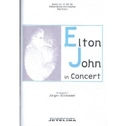John, Elton: Elton John in Concert : für Akkordeonorchester Partitur
