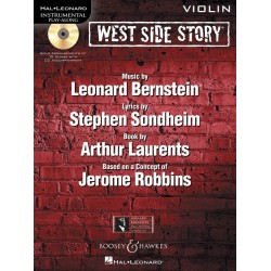 Bernstein, Leonard: West Side Story - Selections (+CD) : for violin