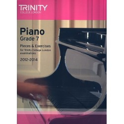 Pieces and Exercises 2012-2014 Grade 7 : for piano