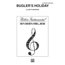 Anderson, Leroy: Bugler's Holiday : for 3 trumpets and piano parts