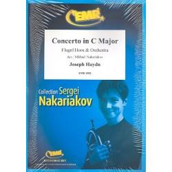 Haydn, Franz Joseph: Konzert C-Dur für Violoncello und Orchester : für Flügelhorn und Orchester Partitur und Stimmen