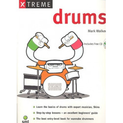 Walker, Mark: Xtreme Drums (+CD)