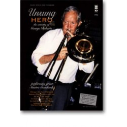 Music Minus One Trombone (+CD) : Unsung Hero, the artistry of George Roberts