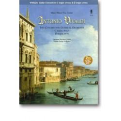 Vivaldi, Antonio: Music Minus One Guitar (+2 CD's) 2 Concerti for guitar and orchestra