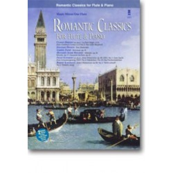 Music Minus One Flute (+2CD's) Romantic classics for flute and piano