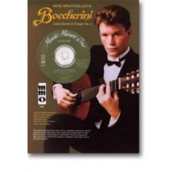 Boccherini, Luigi: Music Minus One Guitar (+CD) : Guitar quintet d major no.4