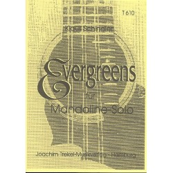 Evergreens : f├╝r Mandoline solo