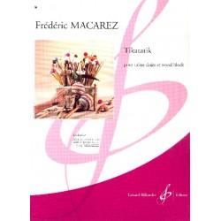 Macarez, Fr├®d├®ric: Tikatatik : pour caisse claire et wood block Collection Les Percussionnistes