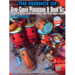 Uribe, Ed.: The Essence of afro-cuban Percussion and Drum set (+Audio Online)