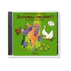 Schwein gehabt - Da rocken ja die Hühner CD (komplett und Playbacks)