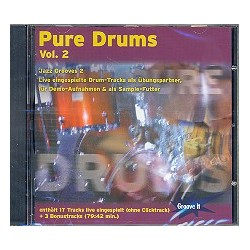 Pure Drums vol. 2 : CD Jazz Grooves 2