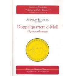 Romberg, Andreas Jakob: Doppelquartett d-Moll op.posth. : für 4 Violinen, 2 Violen und 2 Violoncelli Partitur+Stimmen