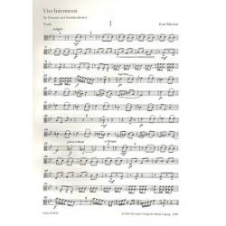 Schwaen, Kurt: 4 Intermezzi : f├╝r Posaune und Streichorchester Viola