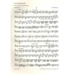 Schwaen, Kurt: 4 Intermezzi : f├╝r Posaune und Streichorchester Violoncello