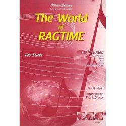 Joplin, Scott: The World of Ragtime (+CD) : for flute