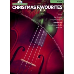 Christmas Favourites (+CD) : for violin