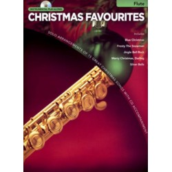 Christmas Favourites (+CD) : for flute