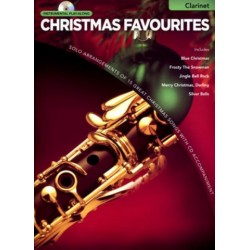 Christmas Favourites (+CD) : for clarinet