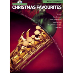 Christmas Favourites (+CD) : for alto saxophone