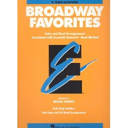 Broadway Favorites : for tenor saxophone