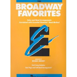 Broadway Favorites : for tuba Solos and band arrangements