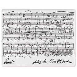 Mousepad Beethoven Weiss