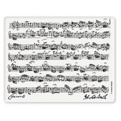 Mousepad Bach Weiss
