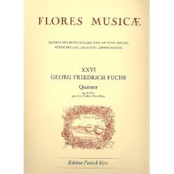 Fuchs, Georg Friedrich: Quartett op.31,1 : für Horn, Violine, Viola und Baß Stimmen