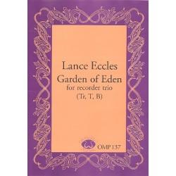 Eccles, Lance: Garden of Eden : für 3 Blockflöten (STB) Partitur und Stimmen