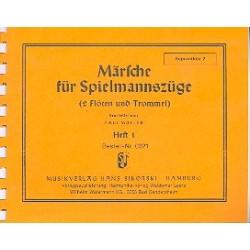 Märsche für Spielmannszüge Band 1: Sopranflöte 2