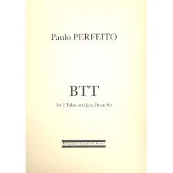 Perfeito, Paulo: BTT für 2 Tuben und Jazz-Drumset Partitur und Stimmen