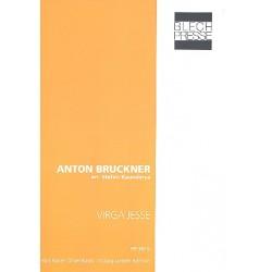 Bruckner, Anton: Virga Jesse : für Euphonium, 2 Tuben in F und Tuba in B Partitur und Stimmen