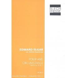 Elgar, Edward: Pomp and Circumstance : für Euphonium, 2 Tuben in F und Tuba in B Partitur und Stimmen