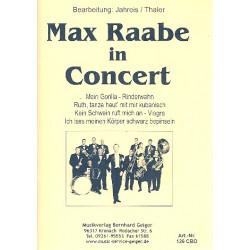 Max Raabe in Concert (Medley) : f├╝r Combo, Gesang und Klavier Partitur und Stimmen