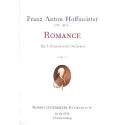 Hoffmeister, Franz Anton: Romanze für 3 Hörner und Orchester : für 3 Hörner und Klavier Stimmen